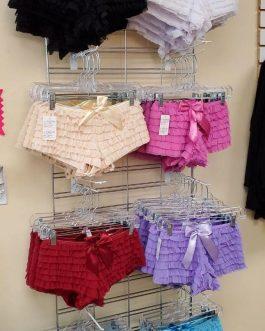 Ruffled Bow Panties