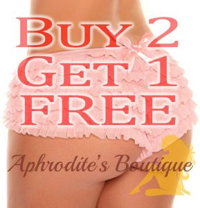 Ruffled Bow Panties Buy 2 Get 1 Free